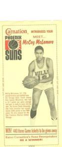 McCoy McLemore 1968 test Carnation Phoenix suns