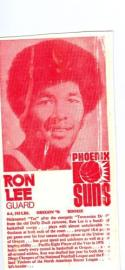 Ron Lee Carnation 1971 Phoenix suns red