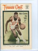 1965 Oscar Robertson Royals featured on Treasure Chest Comic Book