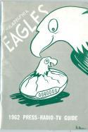 Philadelphia Eagles 1962 Football Guide em - bx ft pro guide