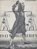 1966 Yankees Dodgers Old Timers Program