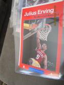 Julius Erving Sixers Last Doc's call Phoenix 1986 Vetrans poster