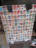 1981 Donruss Baseball 5 uncut sheets complete set