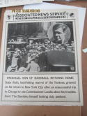 1925 New York Yankees Babe Ruth Associated News Service poster