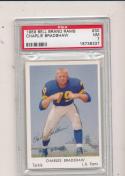1959 Los Angeles Rams bell Brand  Charles Bradshaw PSA 7 #30