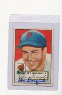 Joe Garagiola 227 Pirates signed 1952 Topps Signed