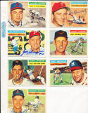 1956 Topps Signed Johnny Groth Kansas City Athletics 279