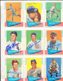 1961 Fleer signed baseball card Rick Ferrell
