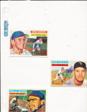 1956 Topps signed card Ernie Oravetz National 51
