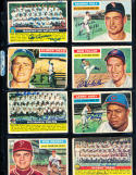 1956 Topps Signed card washington Nationals 3 signed