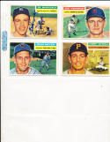 1956 Topps Signed Gil McDougald New York Yankees 225 em