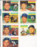 1956 Topps Signed card  Bobby thomson braves gd