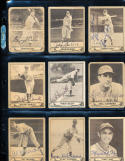 1940 playball Baseball card signed George Case 15 Senators; gd
