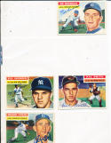 1956 Topps signed card Ed Roebuck Brooklyn dodgers 58