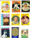 paddy livingston Signed 1973 topps card d.77