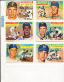1956 Topps Signed Hal Naragon indians  311