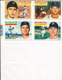 1956 Topps Signed Laurin Pepper Pirates 108
