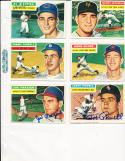 1956 Topps Signed Johnny Antonelli New york Giants 138