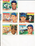 1956 Topps Signed Eddie Yost Nationals 2x #128