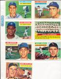 1956 Topps Signed Kansas City Athletics team card