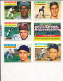 1956 Topps Signed card Chicago White Sox team card billy pierce