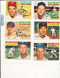 1956 Topps Signed card  Ernie Johnson Braves 294