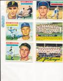 1956 Topps Signed Philadelphia Phillies team card 72