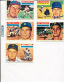 1956 Topps Signed Whitey Lockman Giants 205 card
