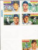 1956 Topps Signed card wayne Terwilliger New york Giants 73