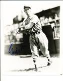 Goody Rosen Brooklyn dodgers 1937-1946  Signed Baseball 8x10 photo d.94