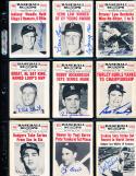 1961 baseball scoops signed card Bob Turley New York Yankees