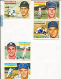 1956 Topps Signed card Chuck Tanner Braves 69