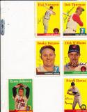 1958 Topps 81 Steve Boros Detroit Tigers Signed card vintage