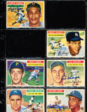 1956 Topps Signed card Hector Lopez Athletics 16