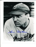 Sam Nahem Brooklyn dodgers 1938  Signed Baseball 8x10 photo d.04