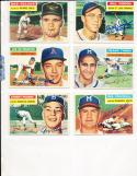 1956 Topps Signed card Del Crandall Milwaukee Braves 175 em