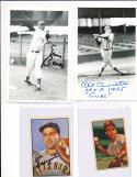 Phil Cavaretta chicago cubs signed 4 x 6 signed photo