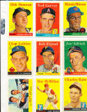 1958 Topps 334 Mound Aces Bob Friend billy pierce card