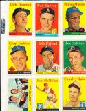 1958 Topps 325 Joe Adcock Milwaukee Braves card