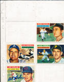 1956 Topps signed card Windy McCall Giants 44