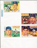 1956 Topps Signed card Bill Tremel chicago Cubs 96 em