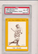 1968 Tris Speaker All Time Baseball Team psa 8 #9