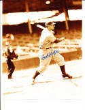 Fred Sington washington senators Signed Baseball 8x10 photo d.98