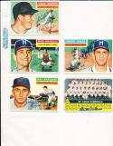 1956 Topps Signed Ray Narleski Indians em 133