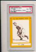 1968 Ty Cobb All Time Baseball Team psa 8 #10