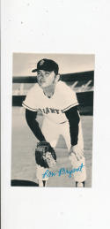 Ron Bryant San Francisco Giants 1974 Topps Deckle edge #21 card white back