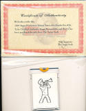 1976 Topps TV Cartoon Tattoos Art Scooby Doo #16 original art