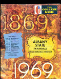 11 Albany State 1969 - 1980  Football Programs