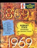 11 Albany State 1969 - 1980  Football Programs