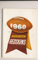 1960 Washington Redskins  NFL  press media guide em